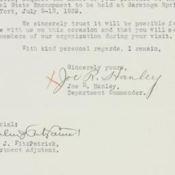 Letter : 1939 June 24
