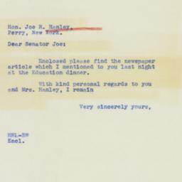 Letter : 1939 November 21