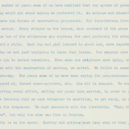 Letter : 1941 February 22