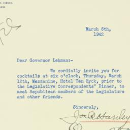 Letter : 1942 March 6