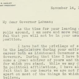 Letter : 1942 November 14