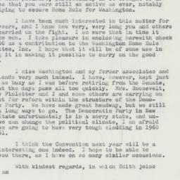 Letter : 1959 November 23