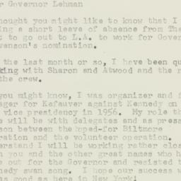 Letter : 1960 June 28