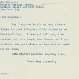 Press Release: 1935 January 4