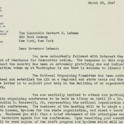 Letter: 1947 March 28