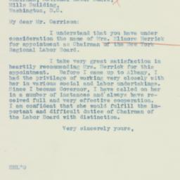 Letter : 1934 April 18