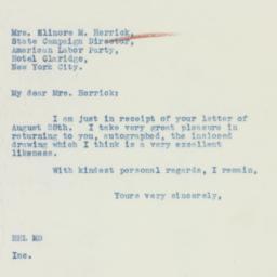 Letter : 1936 September 1