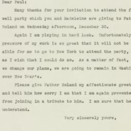 Letter : 1942 December 28