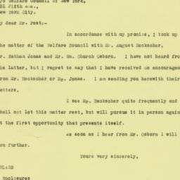 Letter : 1926 May 8