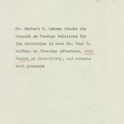 Letter : 1948 June 24