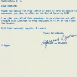 Letter : 1956 June 13