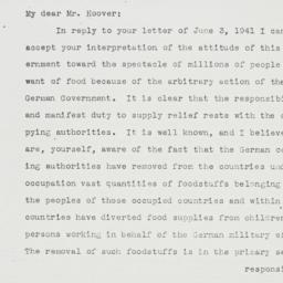Letter : 1941 June 28