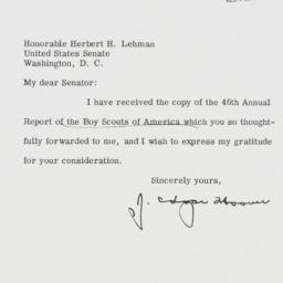 Letter: 1956 May 17