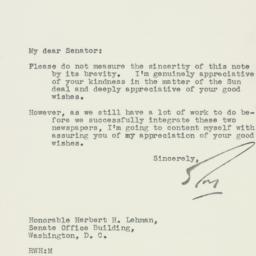 Letter : 1950 January 6