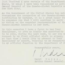 Letter : 1939 May 19