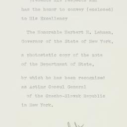 Letter : 1939 June 2