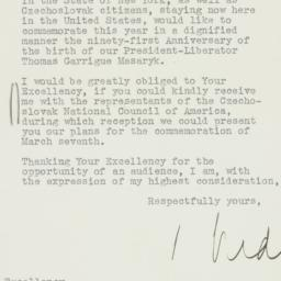 Letter : 1941 February 19