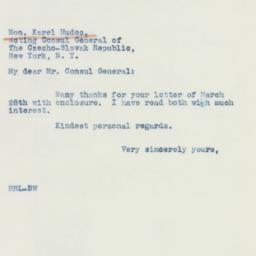 Manuscript : 1941 March 29