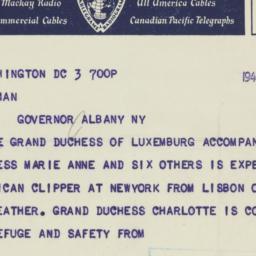 Letter : 1940 October 3