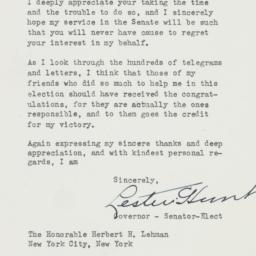 Letter : 1948 November 15