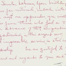 Letter: 1958 March 23