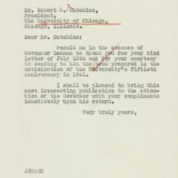Letter: 1940 July 20
