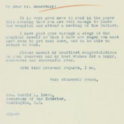 Letter : 1933 December 23