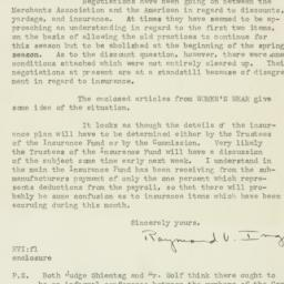 Letter: 1925 August 28