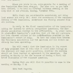 Letter: 1925 November 28