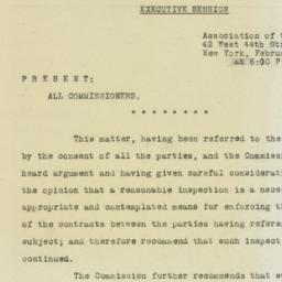 Administrative Record: 1925...