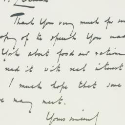 Letter : 1946 June 19