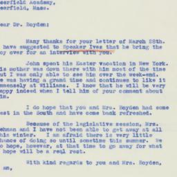 Letter : 1939 April 4