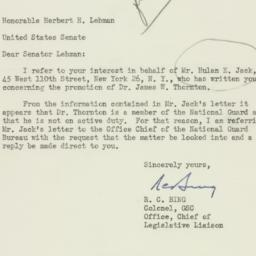 Letter : 1951 May 5