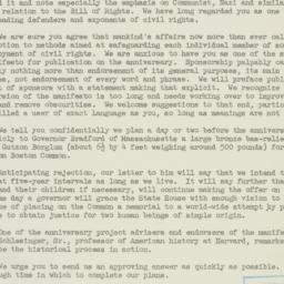 Letter : 1947 August 5