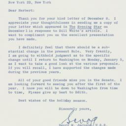 Letter : 1958 December 17