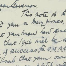 Letter: 1945 December 24
