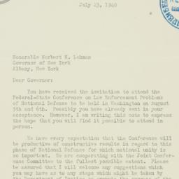 Letter : 1940 July 23