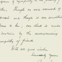 Letter : 1942 May 22