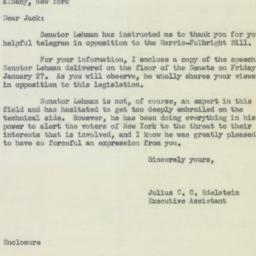 Letter : 1956 February 6