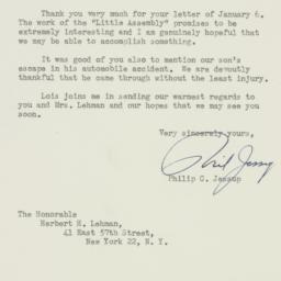 Letter: 1948 January 13