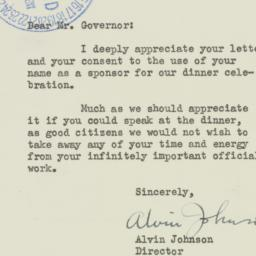 Letter : 1941 March 10