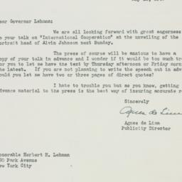 Letter : 1947 May 12