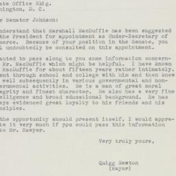 Letter : 1950 May 17