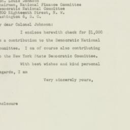 Letter : 1948 September 29