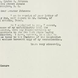 Letter : 1951 July 6
