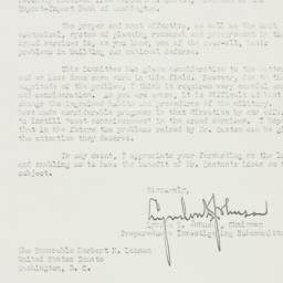 Letter : 1952 November 15