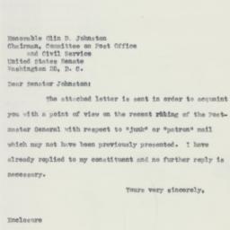 Letter : 1955 January 17