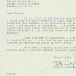 Letter : 1955 December 24