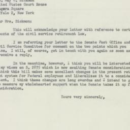 Letter : 1956 May 22