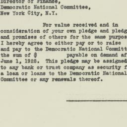 Letter : 1927 July 14